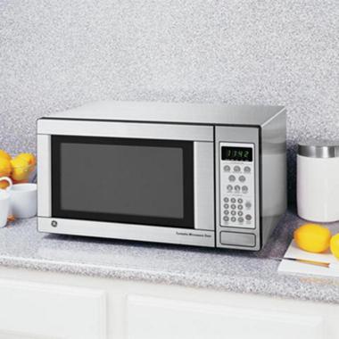 1100 Watt Countertop Microwave Stainless Steel