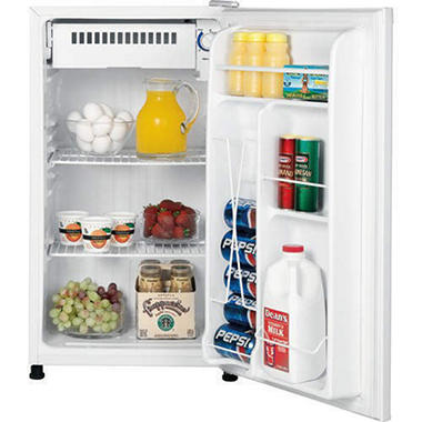 GE 3.1 cu. ft. Compact Refrigerator - White