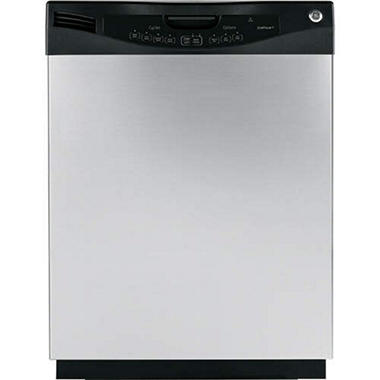 GE® Energy Star® Built-In Dishwasher - CleanSteel™