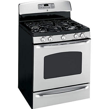 GE® Gas Range  5.0 cu. ft. - Stainless Steel