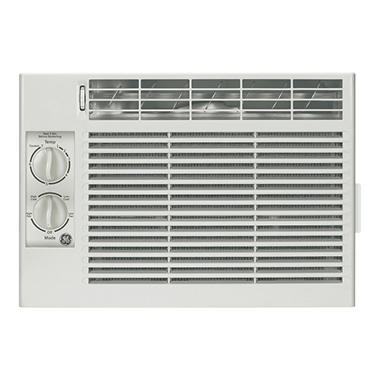 ge btu window air conditioner with mechanical controls