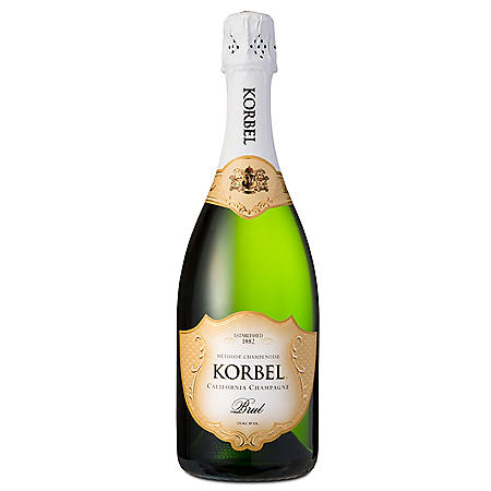 Korbel Brut California Champagne (750 ml)