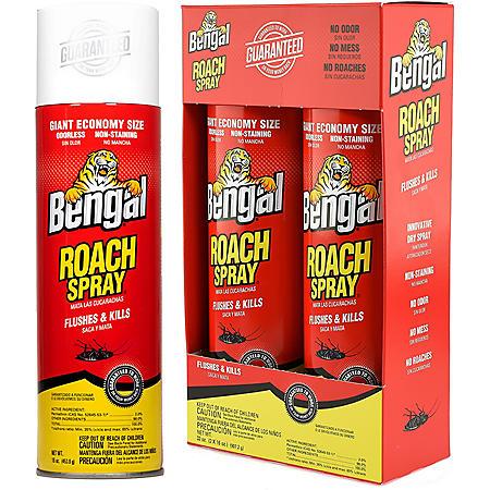Bengal Roach Spray - 2/16 oz. cans