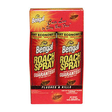 Bengal Roach Spray - 2/16 oz. cans