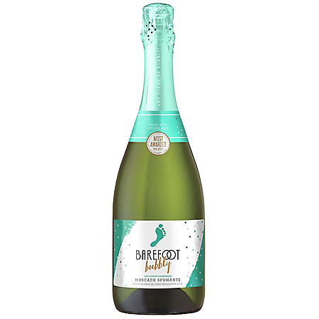Barefoot Bubbly Moscato Spumante Champagne (750ML)