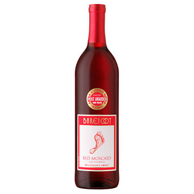 Barefoot Cellars Red Moscato (750 ml)