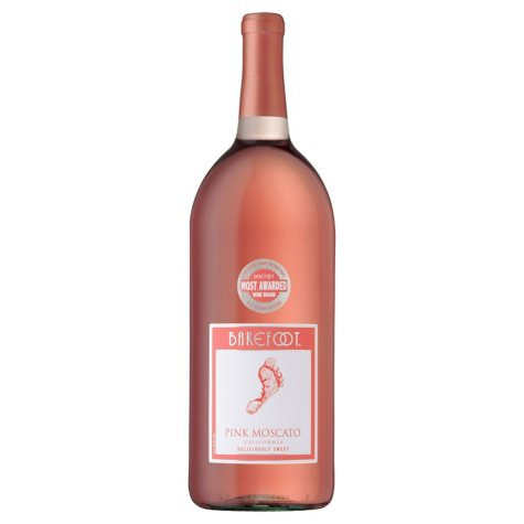 Barefoot Cellars Pink Moscato (1.5 L)