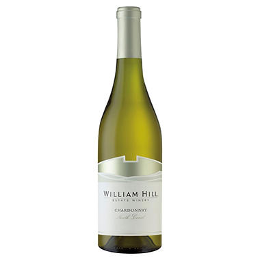 +WILLIAM HILL 750ML NORTHCOAST CHARDONAY