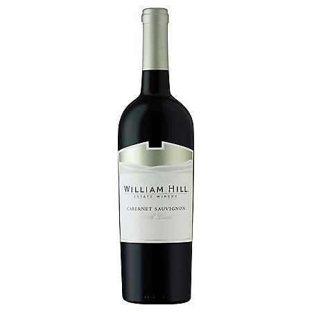 +WILLIAM HILL ESTATE N. COAST CAB 750ML