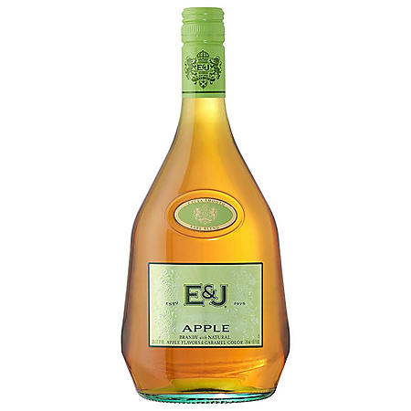 E&J Apple Brandy with Apple Liqueur (750 ml)