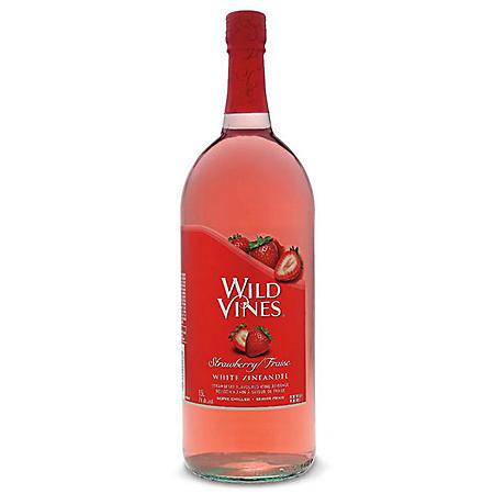 Wild Vines Strawberry White Zinfandel (1.5 L)