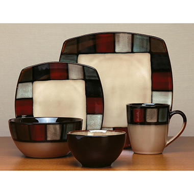 Gibson Elite Villena 20 pc. Dinnerware Set  sc 1 st  Sam\u0027s Club & Gibson Elite Villena 20 pc. Dinnerware Set - Sam\u0027s Club