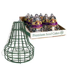 Nut & Berry Bird Seed Bell 6-Pack with Bell Cage