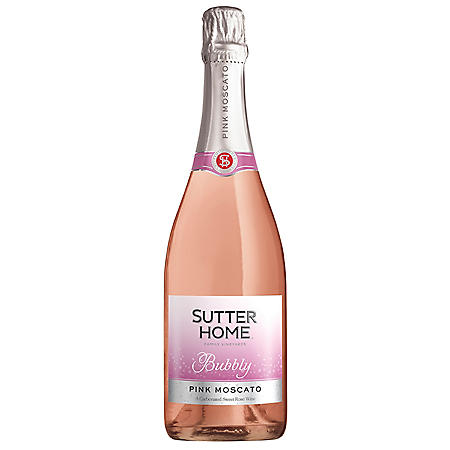 SUTTER HOME 750ML BUBBLY PINK MOSCATO
