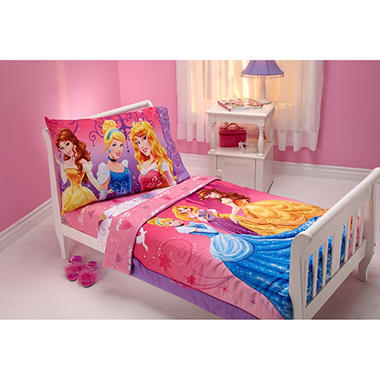 4-Piece Toddler Bedding Set (Choose Your Character)