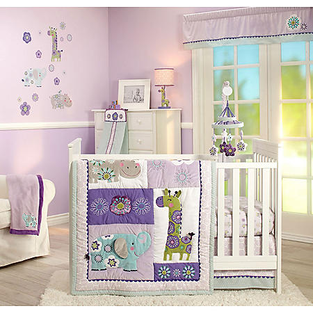 Carter's 4-Piece Crib Set, Zoo