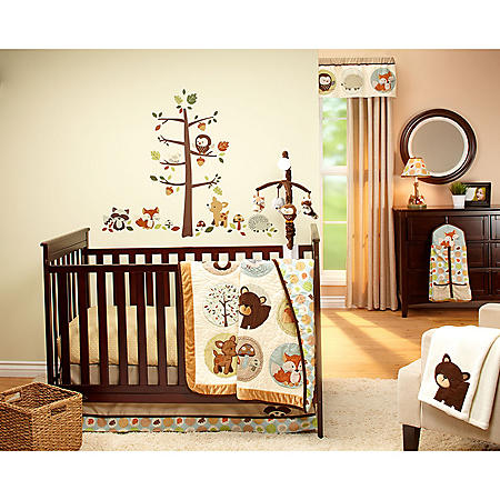 Carter's Crib 4-Piece Bedding Set, Friends