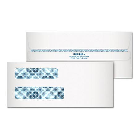 Quality Park - Redi-Strip Security Tinted Envelope, Contemporary, #8, White -  250/Carton