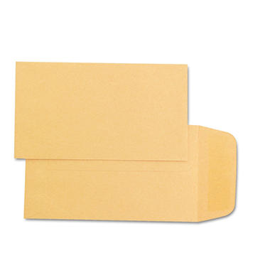 Quality Park - Kraft Coin & Small Parts Envelope, Side Seam, #1, Brown Kraft - 500/Box