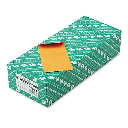 Quality Park - Kraft Coin & Small Parts Envelope, Side Seam, #5 1/2, Brown Kraft - 500/Box