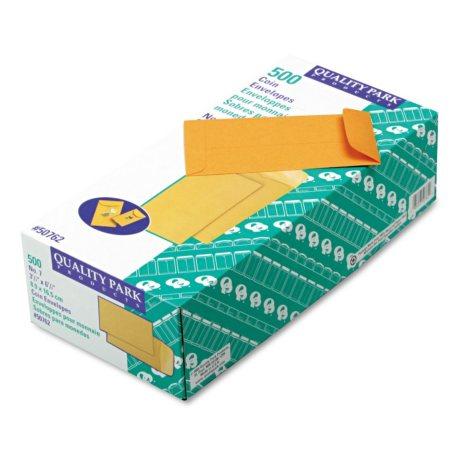 Quality Park - Kraft Coin & Small Parts Envelope, Side Seam, #7, Brown Kraft - 500/Box