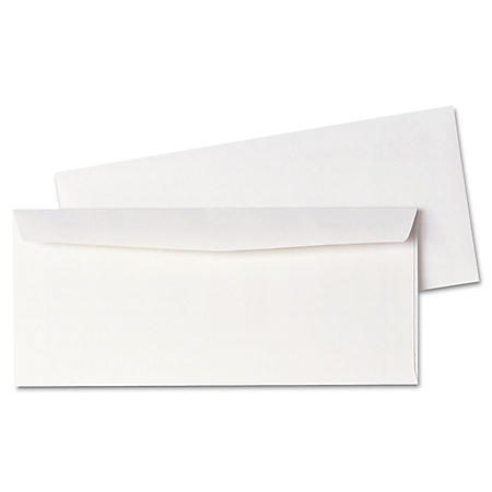 Quality Park - Business Envelope, Contemporary, #10, White - 500/Box