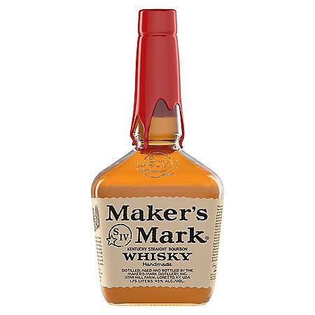 Maker's Mark Bourbon Whisky (1.75 L)
