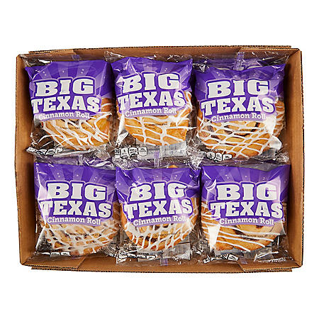 Big Texas Cinnamon Roll (4oz / 12pk)