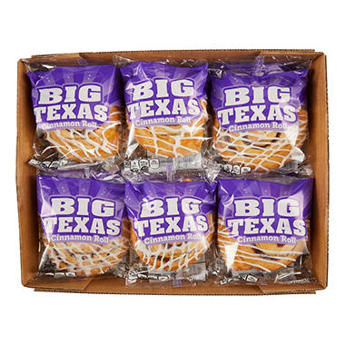 Big Texas Cinnamon Rolls