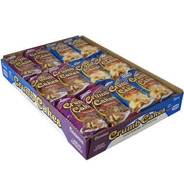 Parkside Bakery Crumb Cake Variety Pack (4 oz., 12 ct.)