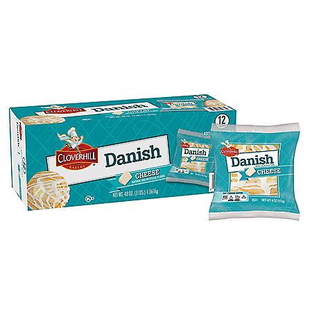 Cloverhill Cheese Danish (4oz / 12pk)