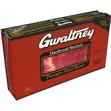 Gwaltney Premium Sliced Bacon (1 lb., 3 pkgs.)