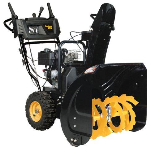 "Poulan Pro 24"" Dual-Stage Gas Snow Thrower, PR242"