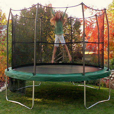15' Trampoline Enclosure - Skywalker Summit Round