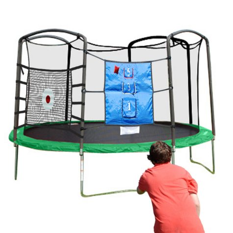 Trampoline with Sports Arena - 15'
