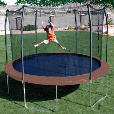 12' Round Trampoline and Enclosure Combo