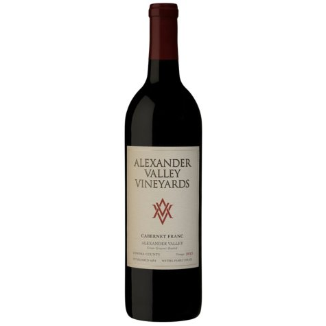 +ALEXANDER VALLEY CABERNET FRANC 750ML