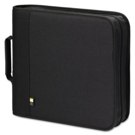 Case Logic CD/DVD Binder - Holds 208 CDs