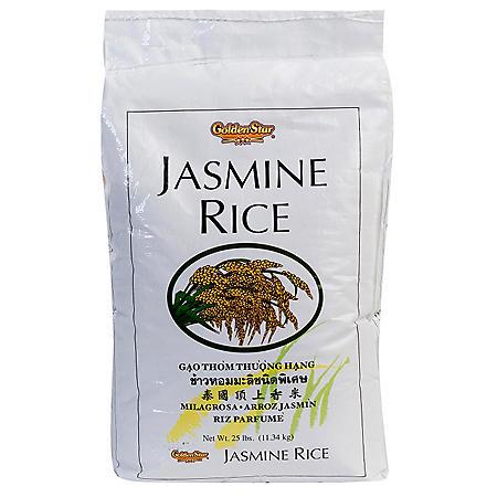 Golden Star Vietnamese Jasmine Rice 25 lb.