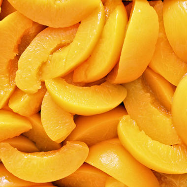 Sliced Peaches in Light Syrup - 105 oz.