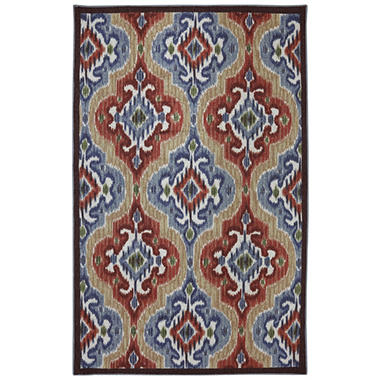 Mystic Ikat Primary Outdoor Area Rug