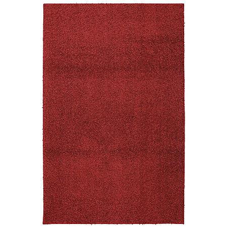Habitat Shag Crimson Rug