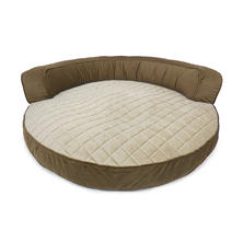 "Canine Creations Memory Foam Circular Day Bed, 36"" x 36"" (Choose Your Color)"
