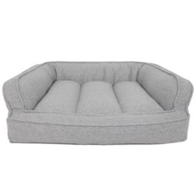 Canine Creations Memory Foam Sofa Style Pet Bed, X-Large (Choose Your Color)