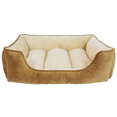 Canine Creations Memory Foam Lounger Pet Bed, 33