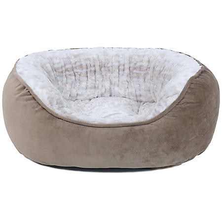 "Canine Creations Memory Foam Cuddler Style Pet Bed, 28"" x 24"" (Choose Your Color)"