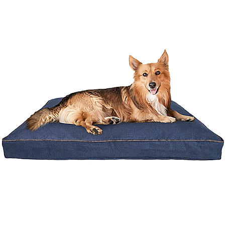 "Canine Creations Orthopedic Foam Pillow Style Pet Bed, 40"" x 30"" (Choose Your Color)"