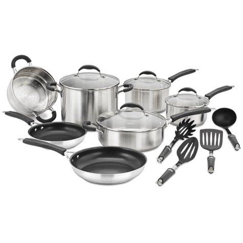 Cuisinart® Classic Stainless Cookware Set - 15 pcs.