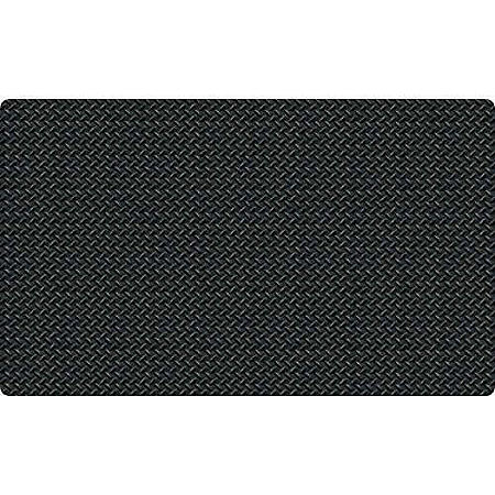 Diamond Foot™ Anti-fatigue Mat, Black (3' x 5')