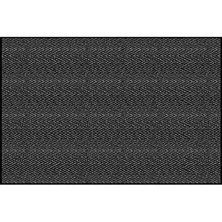 Chevron Rib Indoor Entrance Mat, 4' x 6' (Various Colors)